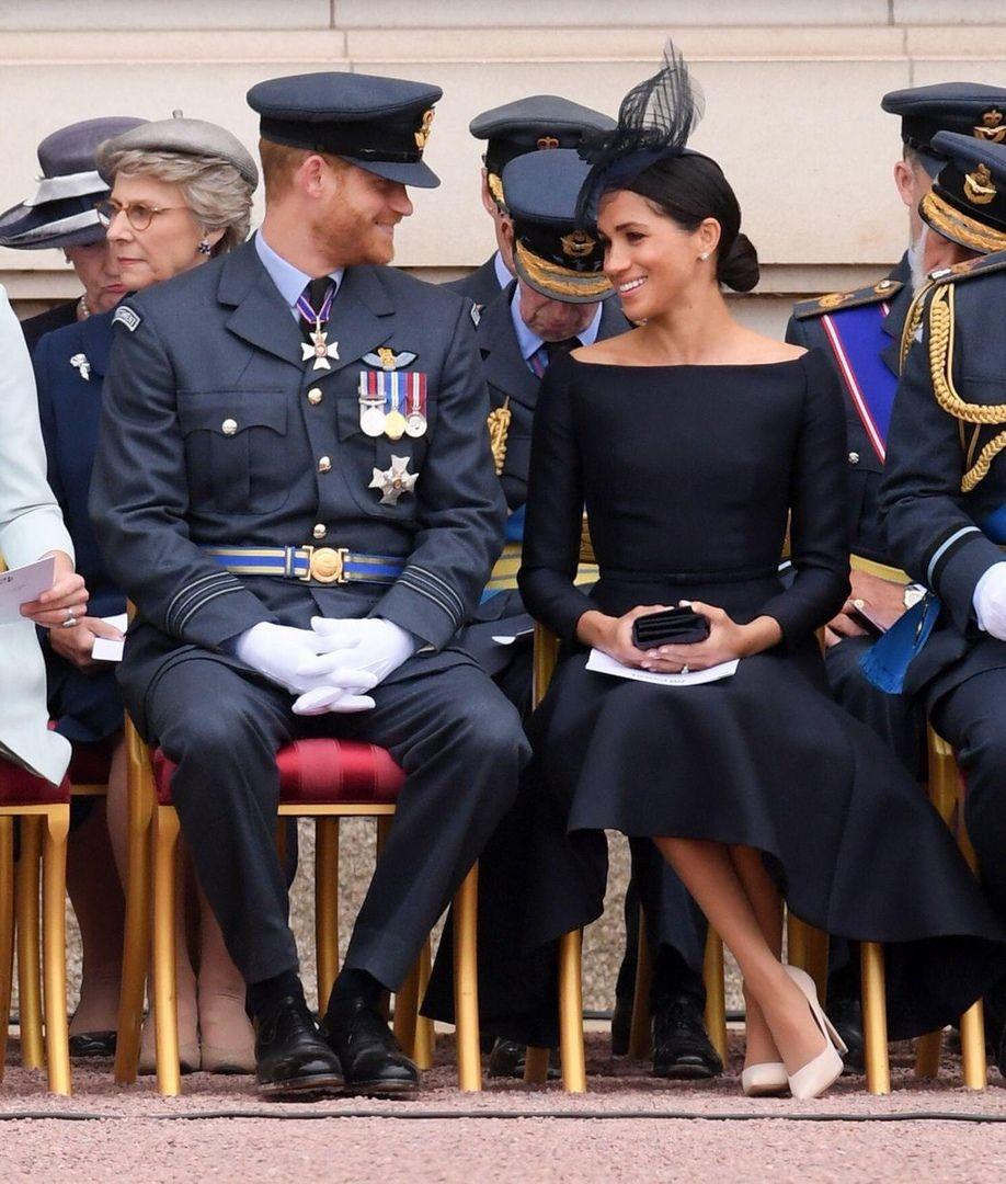 July 10, 2018: Prince Harry Sat Beside His Wife Meghan