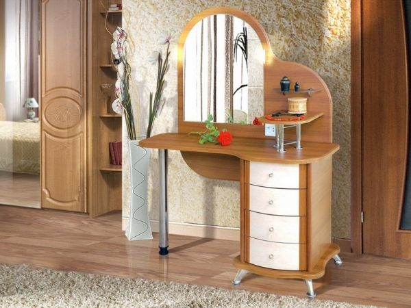 Wooden Small Makeup Dressing Tables For Table Designs