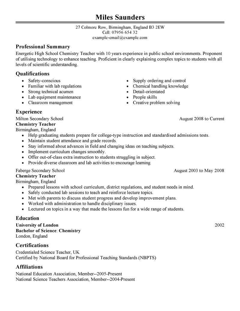 12 Amazing Education Resume Examples Education resume