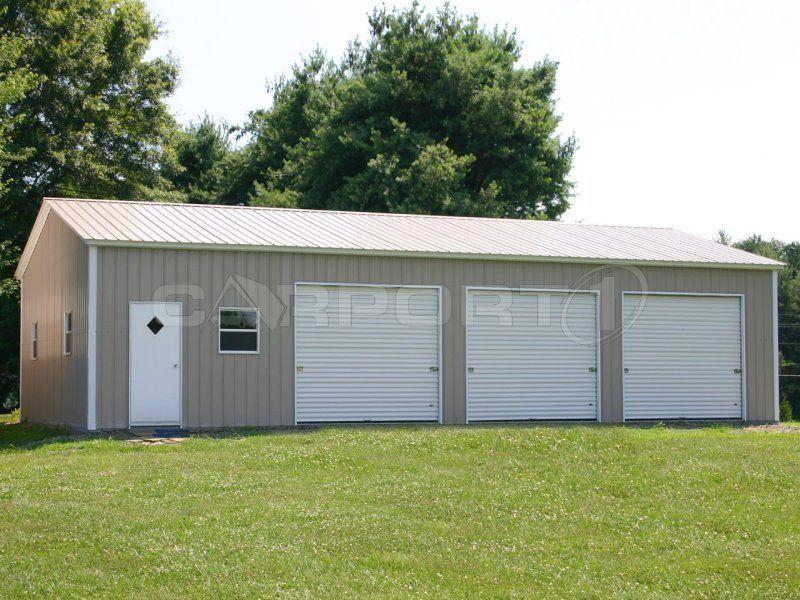 Metal Garage Metal garages, Metal buildings, Metal