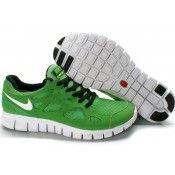 Nike Free Run+2 Laufschuh grün weiß