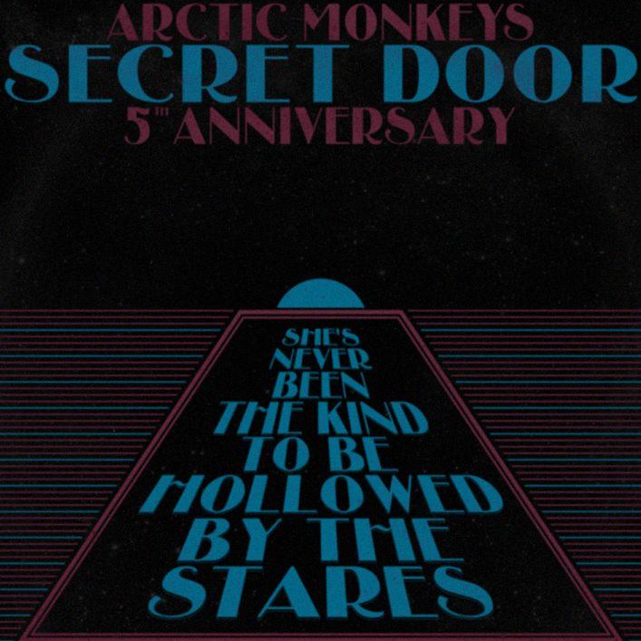 SECRET DOOR Print by botyeah Arctic Monkeys' Humbug 5th