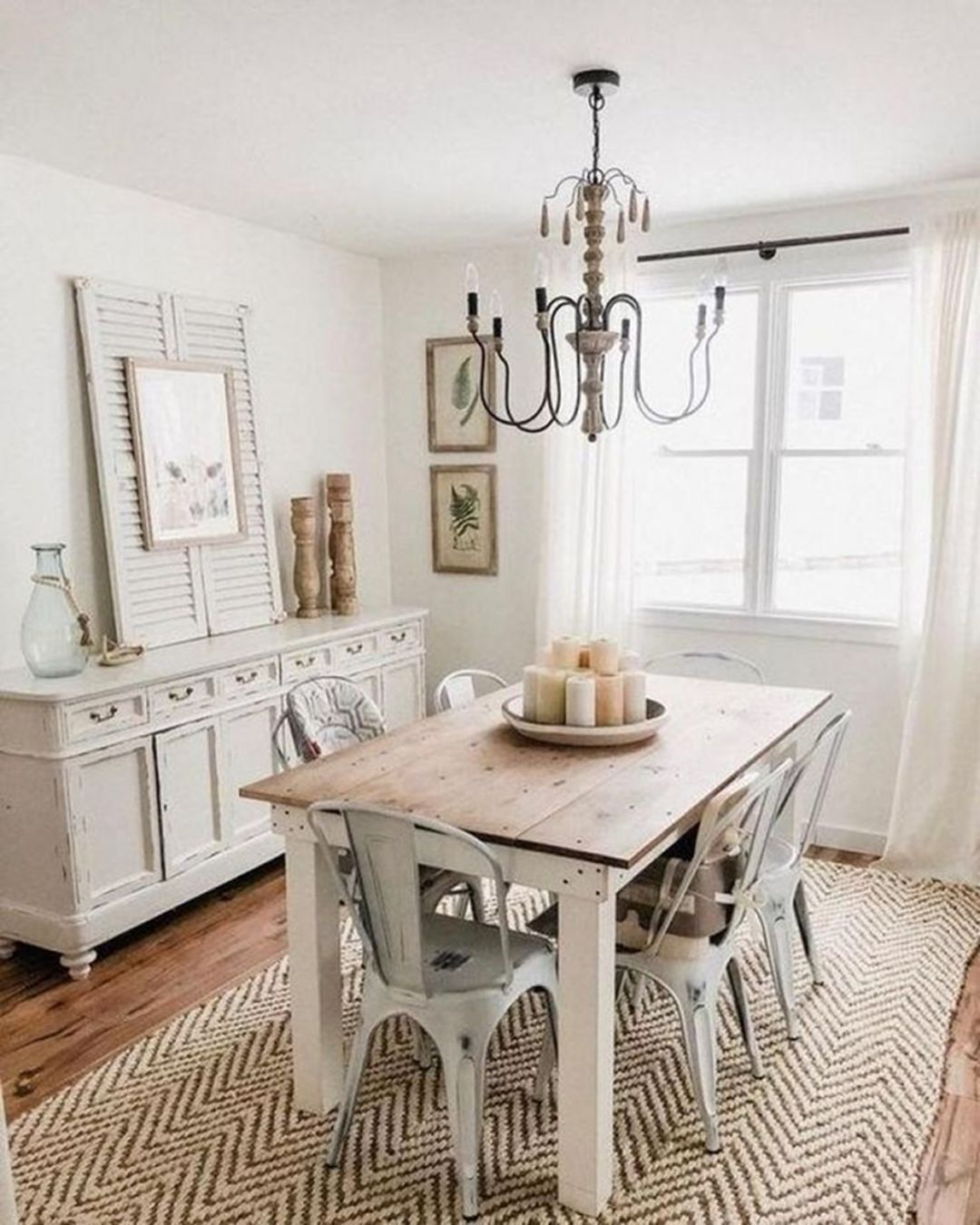 25 Awesome Traditional Dining Design Ideas: 32 Stunning Rustic Farmhouse Dining Room Set Furniture