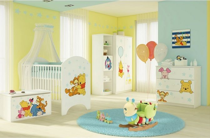 Disney babykamer Baby Pooh