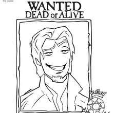 FLYNN RIDER coloring sheet  Coloring page  DISNEY coloring pages