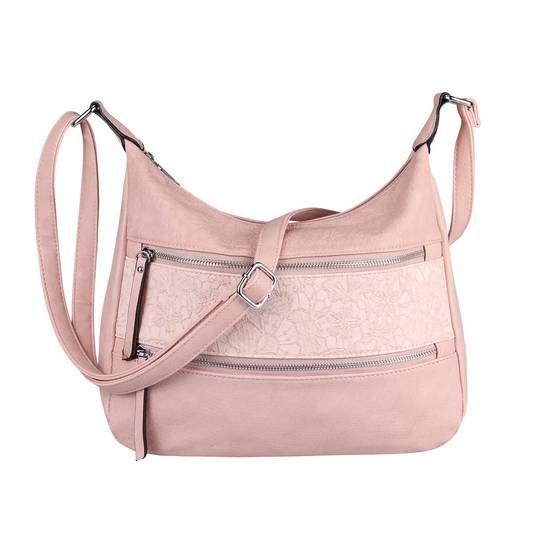 Photo of OBC Damen Tasche Blumen Shopper Tote Bag Handtasche Umhängetasche Ta132-Pink