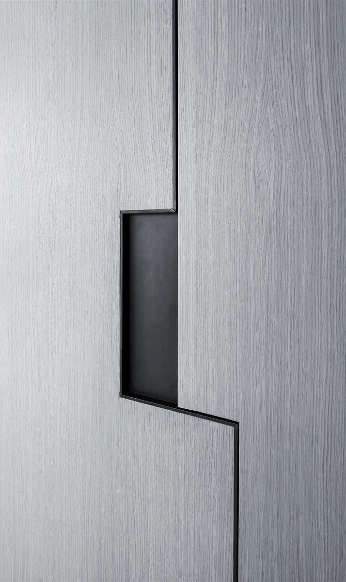 Pitsou Kedem   Art Collector Apartment 2   cabinet detail