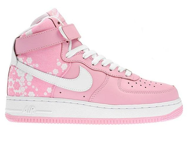Chaussures Nike Air Force One Blanc/ Rose [nike_10532] - €57.98 ...