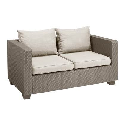 Lounge Bankje 2 Zits.Allibert Salta 2 Zits Loungebank Comfortabele Banken