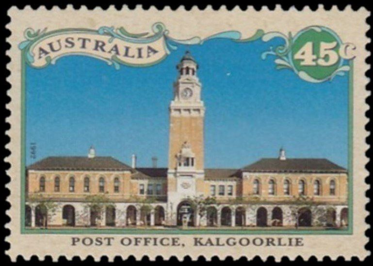 Post Office, Kalgoorlie | Stamps: Australia | Post office