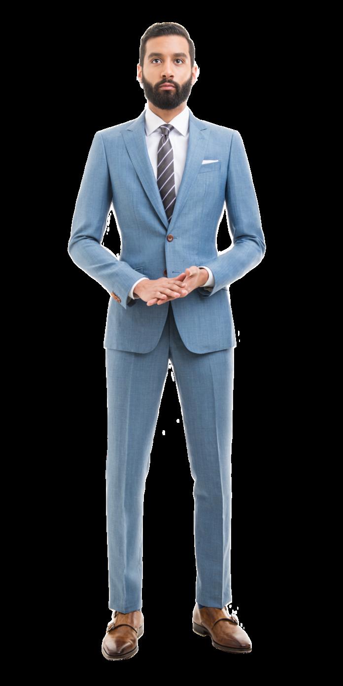 Light Blue Linen Blend Custom Suit | Moda | Pinterest | Linens ...
