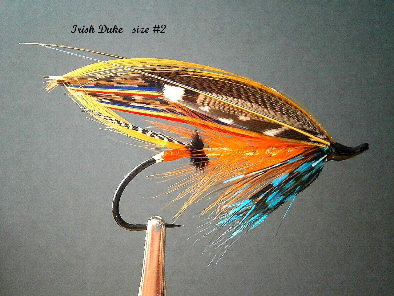 Irish Duke | Fly fishing flies pattern, Salmon flies ... Classic Atlantic Salmon Fly Patterns