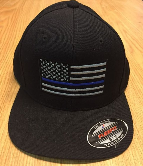 df18b20a8 Thin Blue Line Hat | Embroidered Baseball Hat | Police Support ...