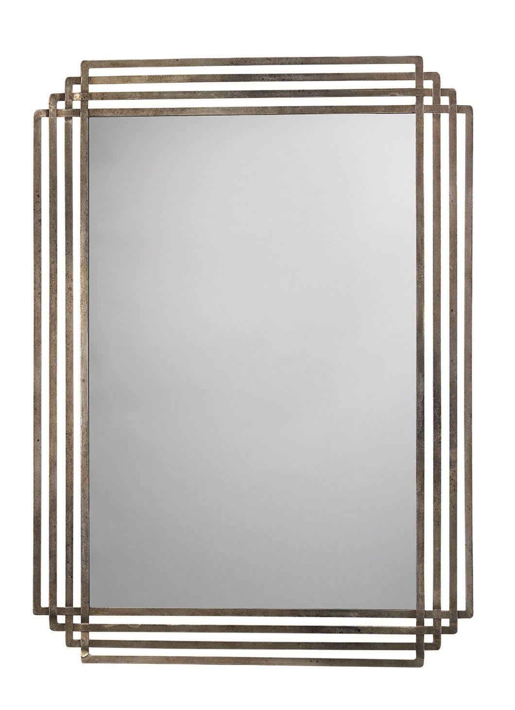 New Serai Mirror Art Deco Mirror Modern Art Deco Mirror Wall
