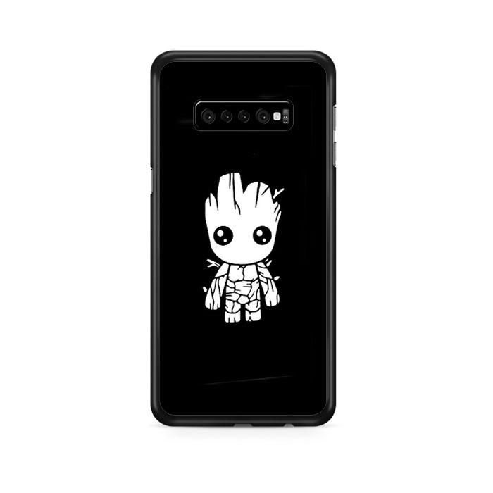 Photo of Baby Groot Guardians Of The Galaxy Iconic Anime Samsung Galaxy S10 Case