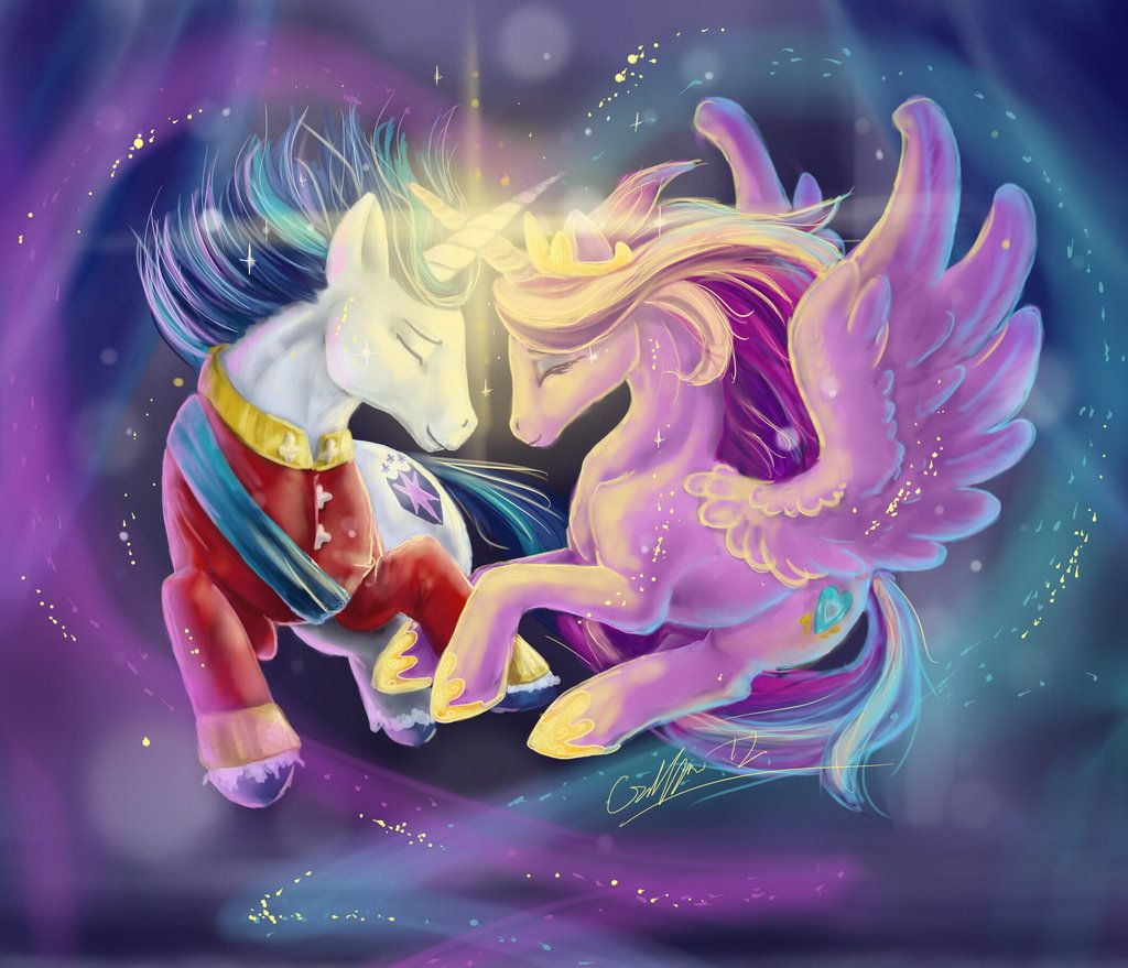 Cadence And Shining Armor By Silverflight On Deviant Art