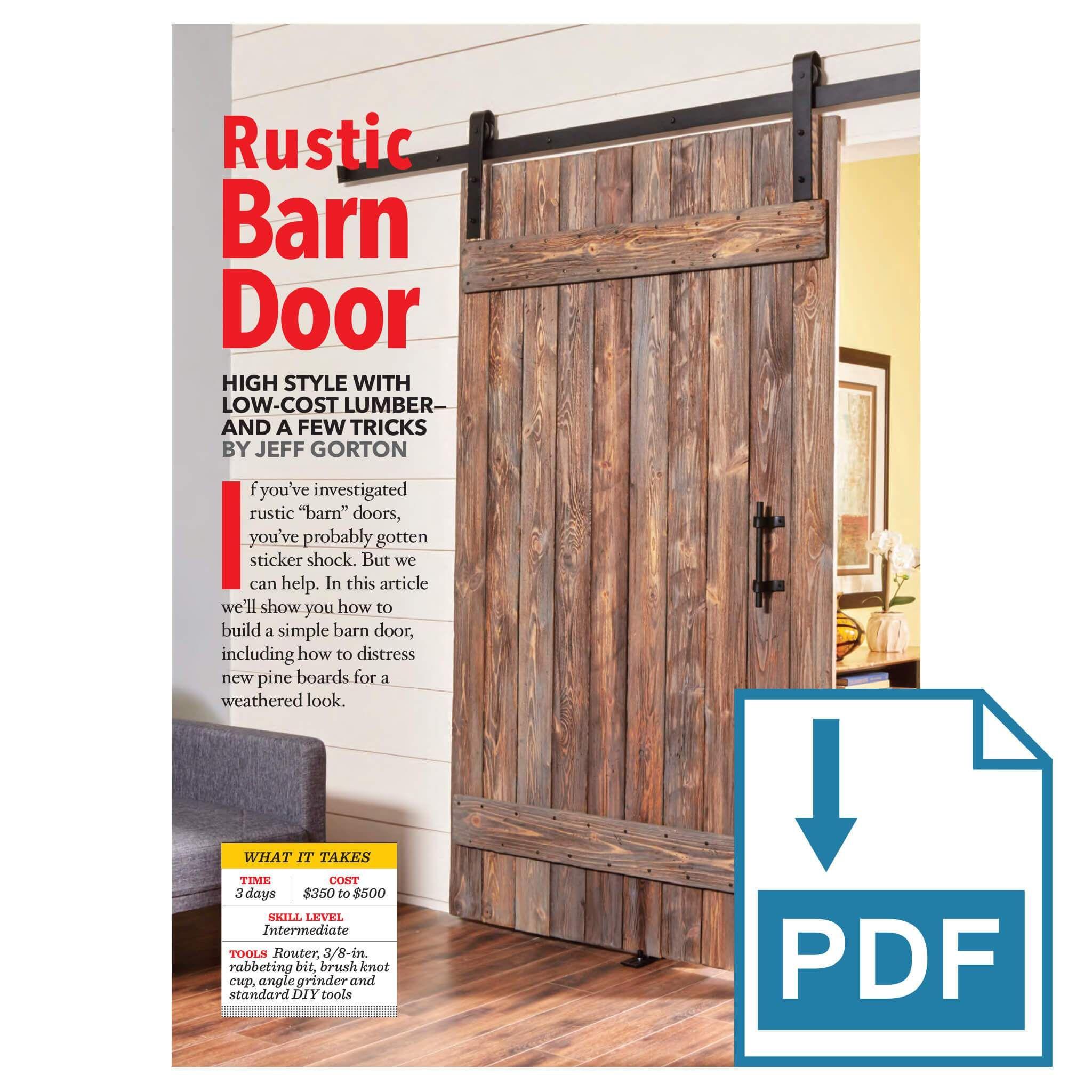 Rustic Barn Door In 2020 Rustic Barn Door Barn Door Diy Sliding Barn Door