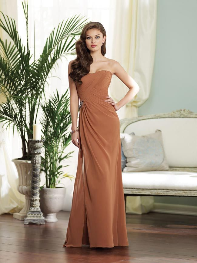 Sophia Tolli's 2014 collection is perfect for glamorous bridesmaids