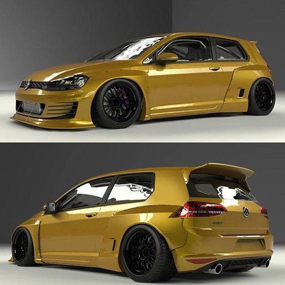 Image Result For Golf 7 Rocket Bunny Volkswagen Polo Volkswagen Volkswagen Golf Mk1