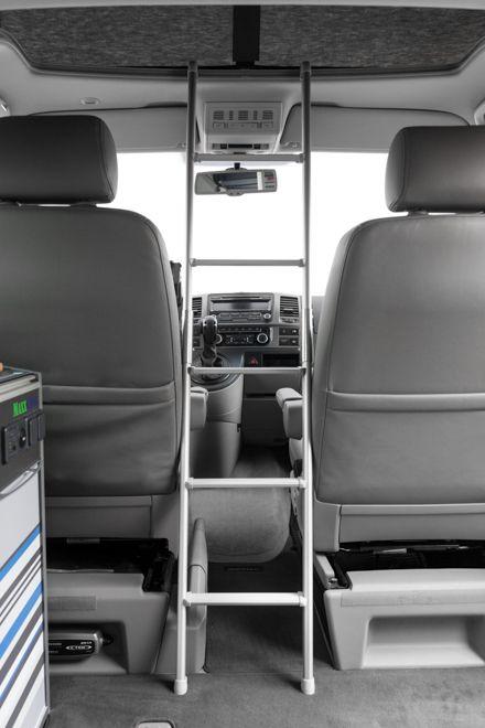 aufstiegsleiter bus minivan camping vw california. Black Bedroom Furniture Sets. Home Design Ideas