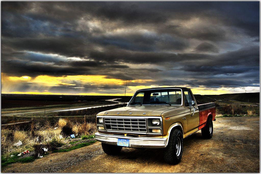 Free truck built ford tough old school cars old fords