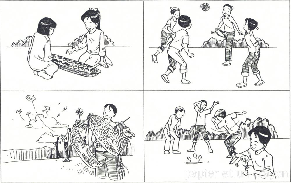 Permainan Tradisional Malaysia Google Search Comics Malaysia Peanuts Comics