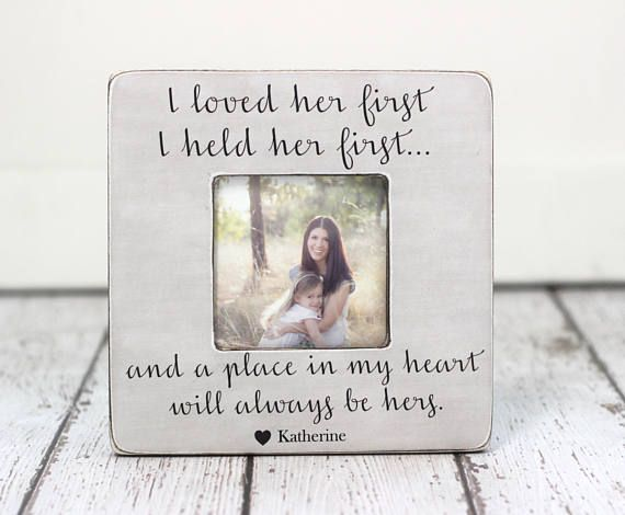 Gift for Fathers Day Dad Father Personalized Picture Frame Gift from ...