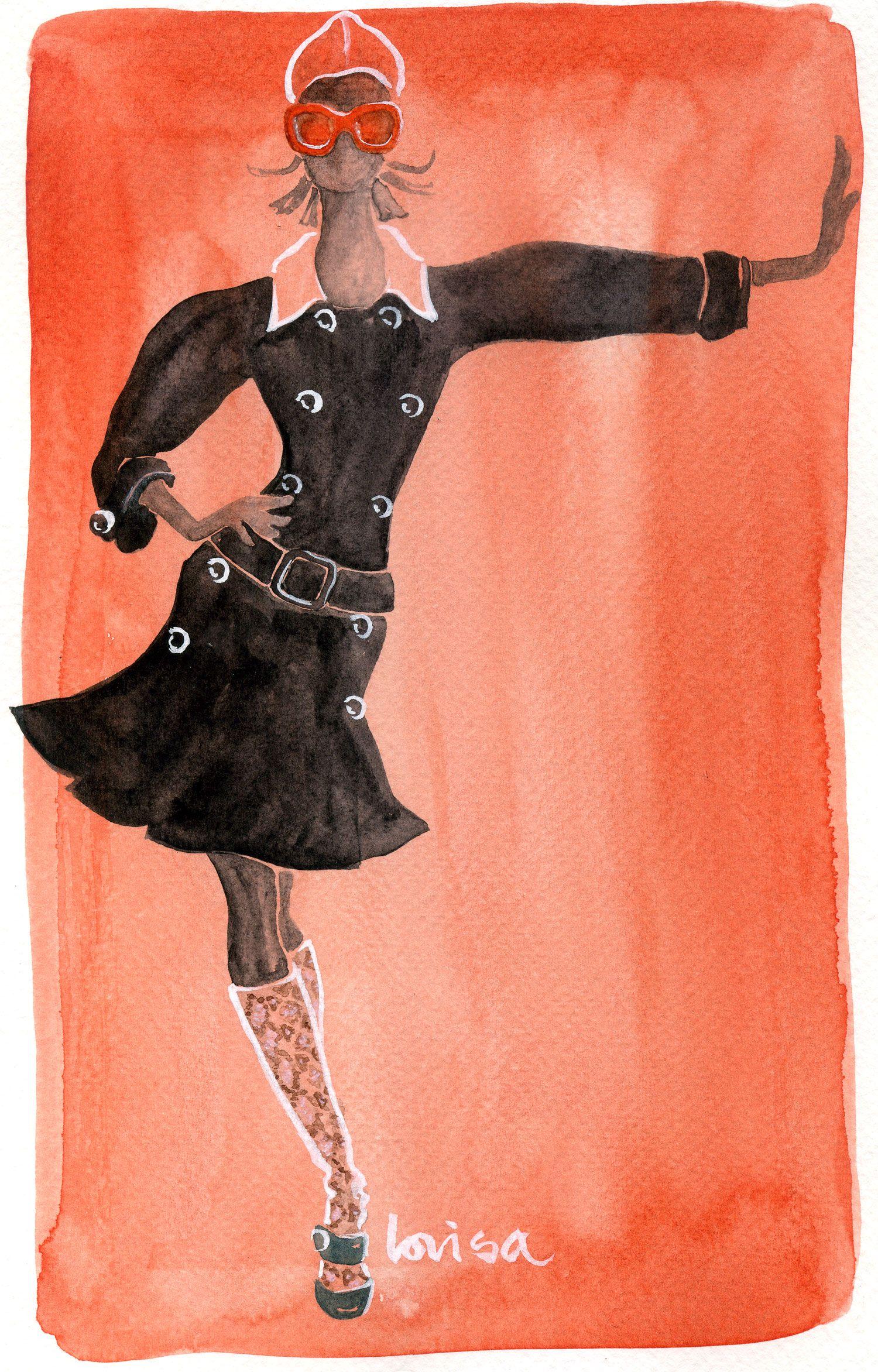 Prada 2010 Artist Lovisa Oliv www.lovisaoliv.com
