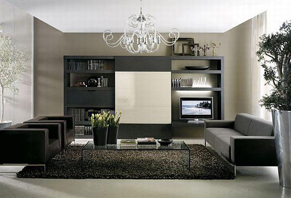 Color Design Ideas With Black Furniture Living Room Design Modern Trendy Living Rooms Living Room Decor Modern