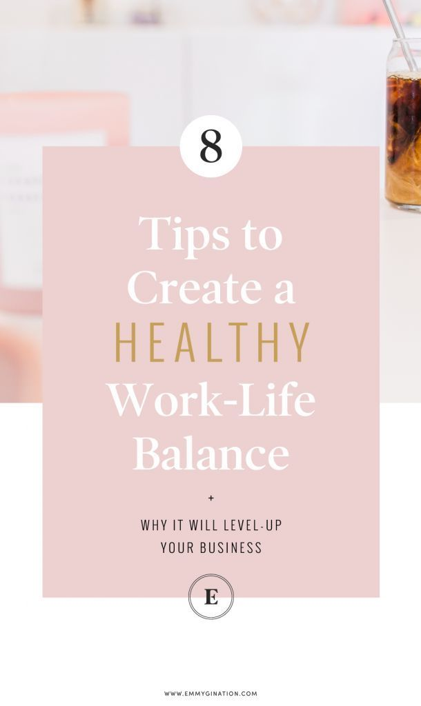 Work Stress Quotes 8 Tips to Create a Healthy Work-Life Balance ~ Emmygination