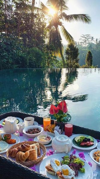 جزيرة بالي إندونيسيا Breakfast Around The World Bali Island Wallpaper
