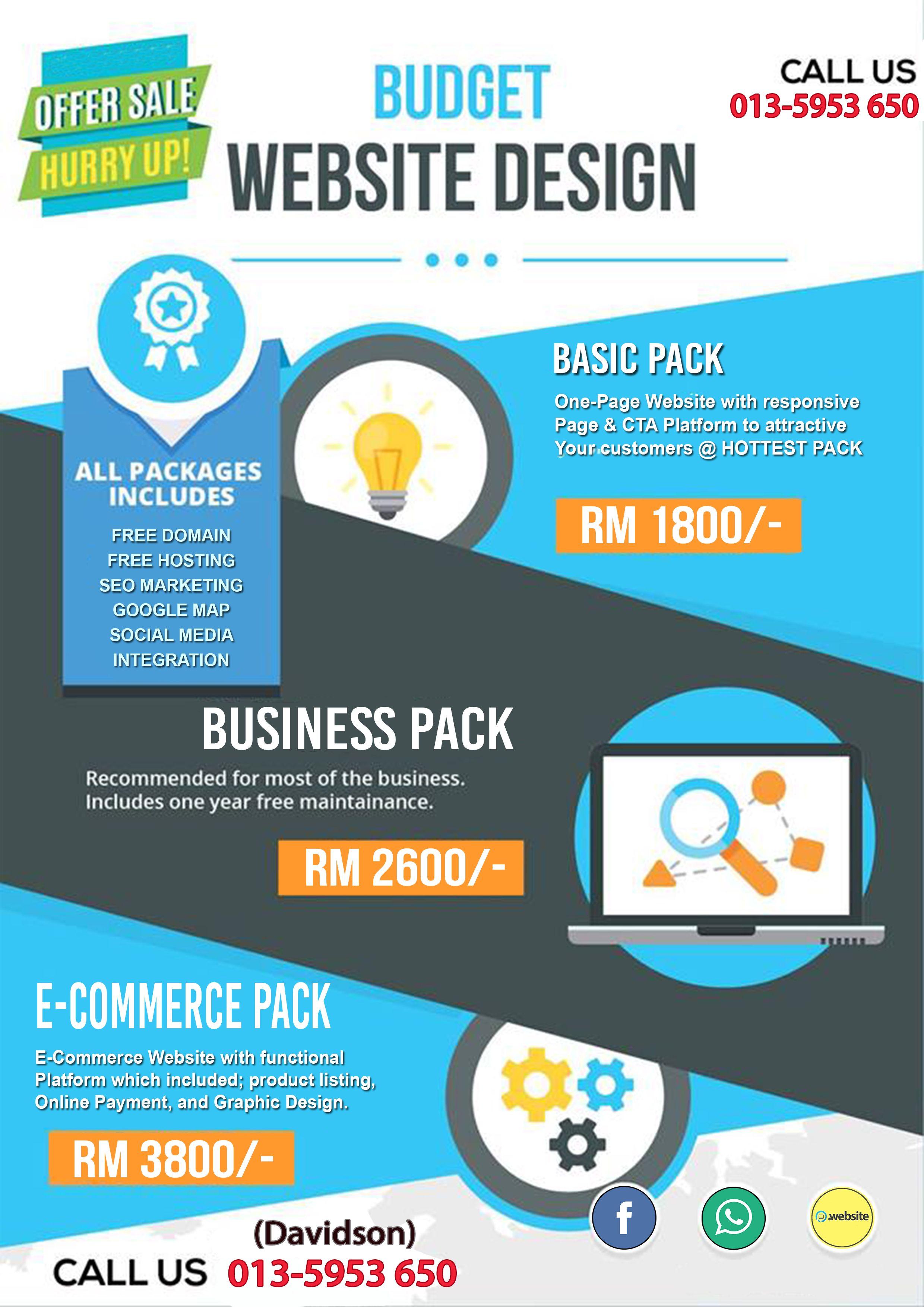 Most Affordable Website Design Affordable Website Design Social Media Integration Website Promotion