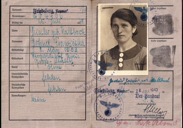 German Special Issued Id S For Jews Our Passports With Regard To World War 2 Identity Card Card Template Free Business Card Templates Birthday Card Template