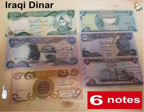 Iraqi Dinar 10000x1 5000x1 1000x1 500x1
