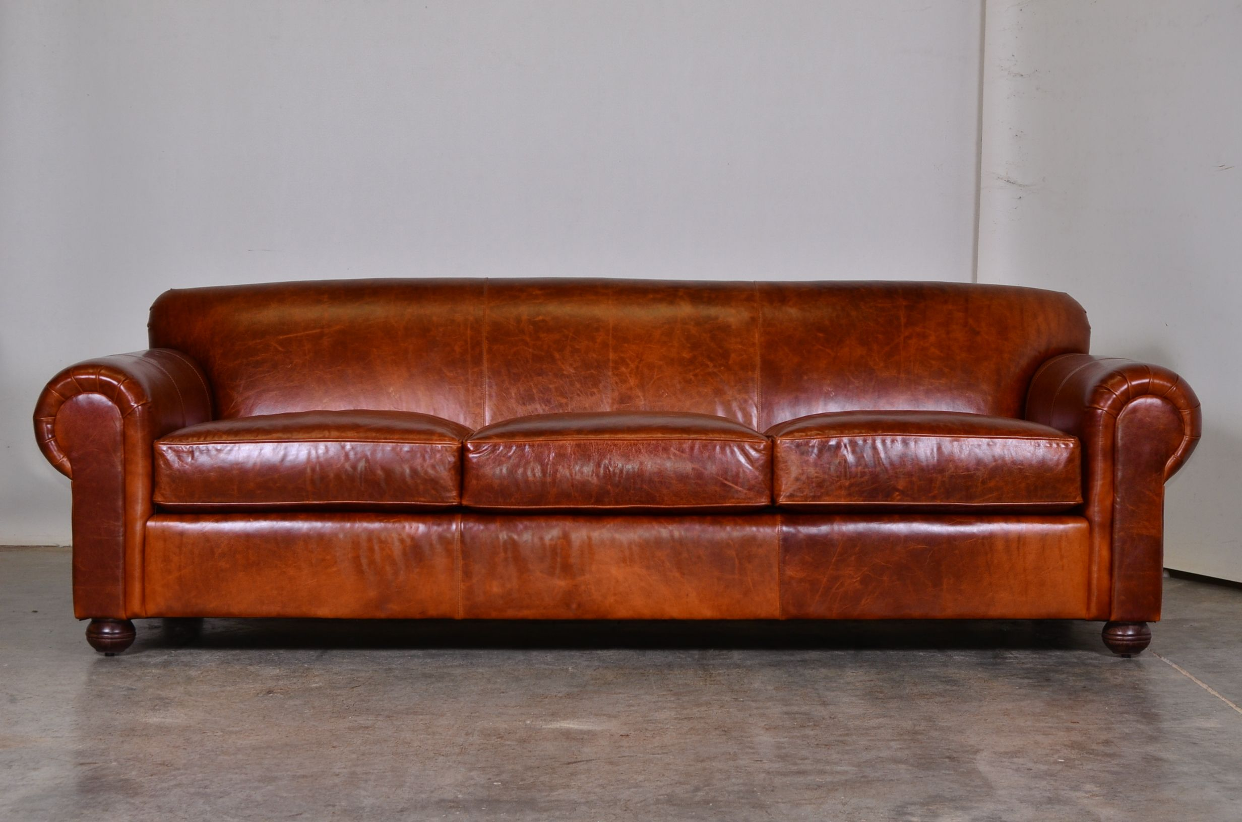 COCOCO Home Lexington Sofa with Hauser Nail Head Pattern