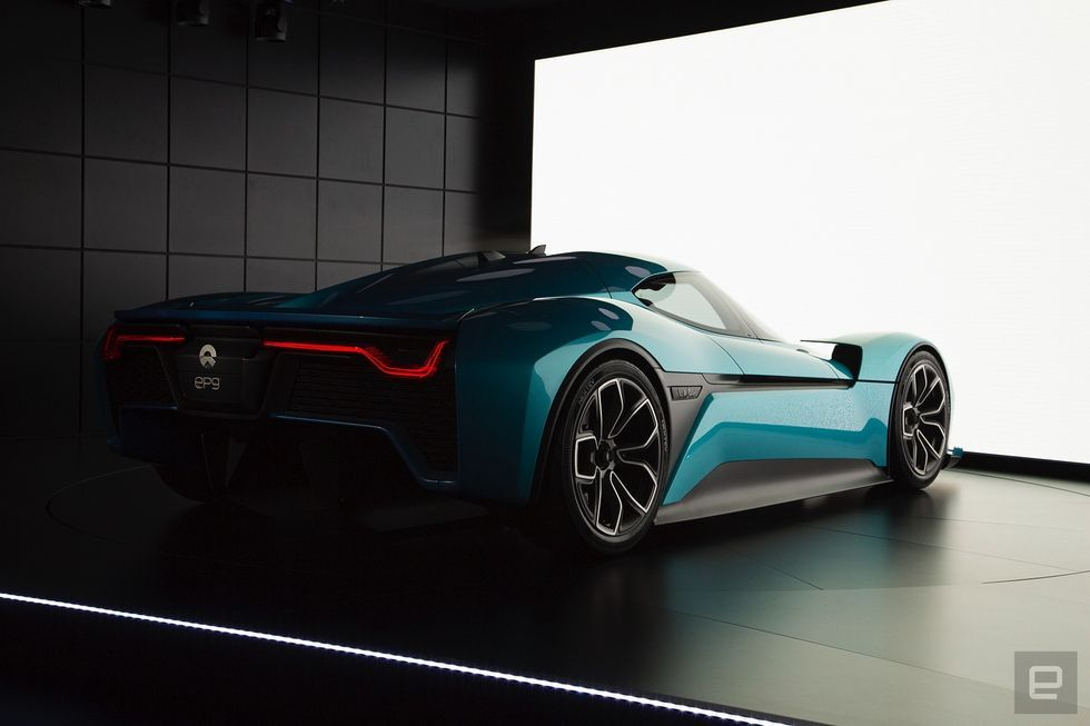 The Nio Ep9 Is The World S Fastest All Electric Supercar Super Cars Boats Luxury Electricity