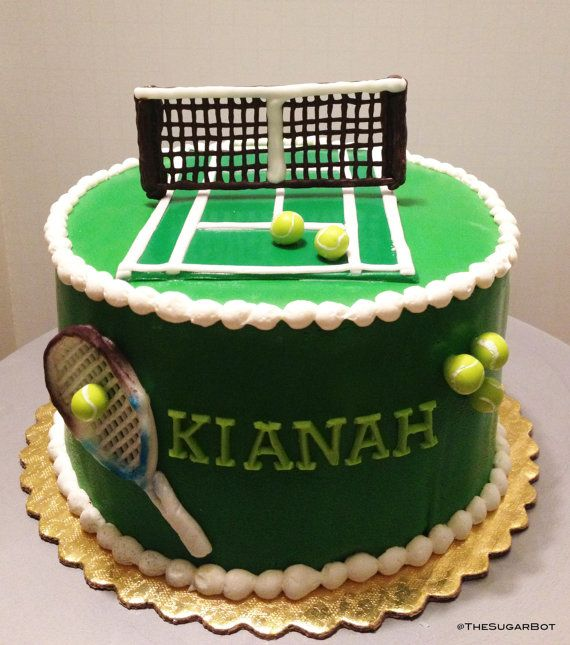 Pin By Heather Lenz On Tennis Tennis Cake Tennis Birthday Party Tennis Crafts