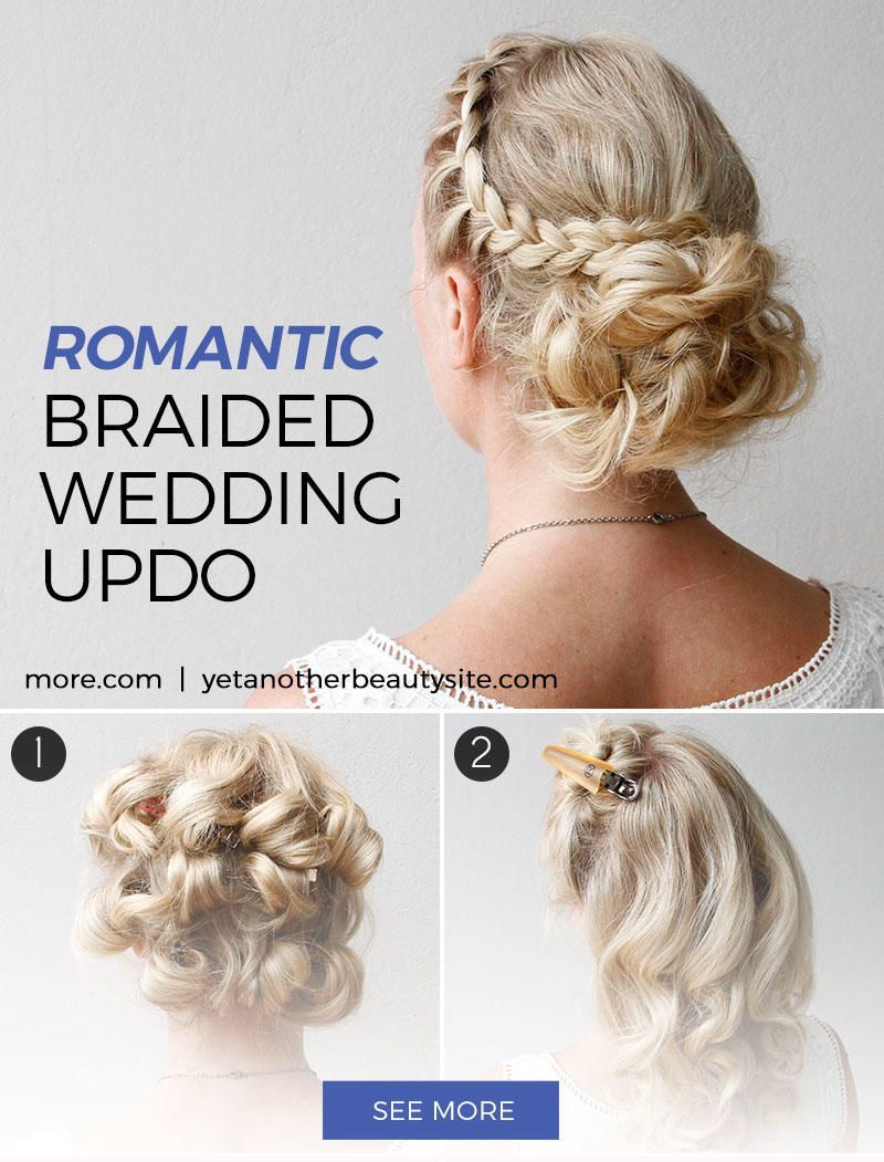 This hairstyle works for any type of formal occasion diy