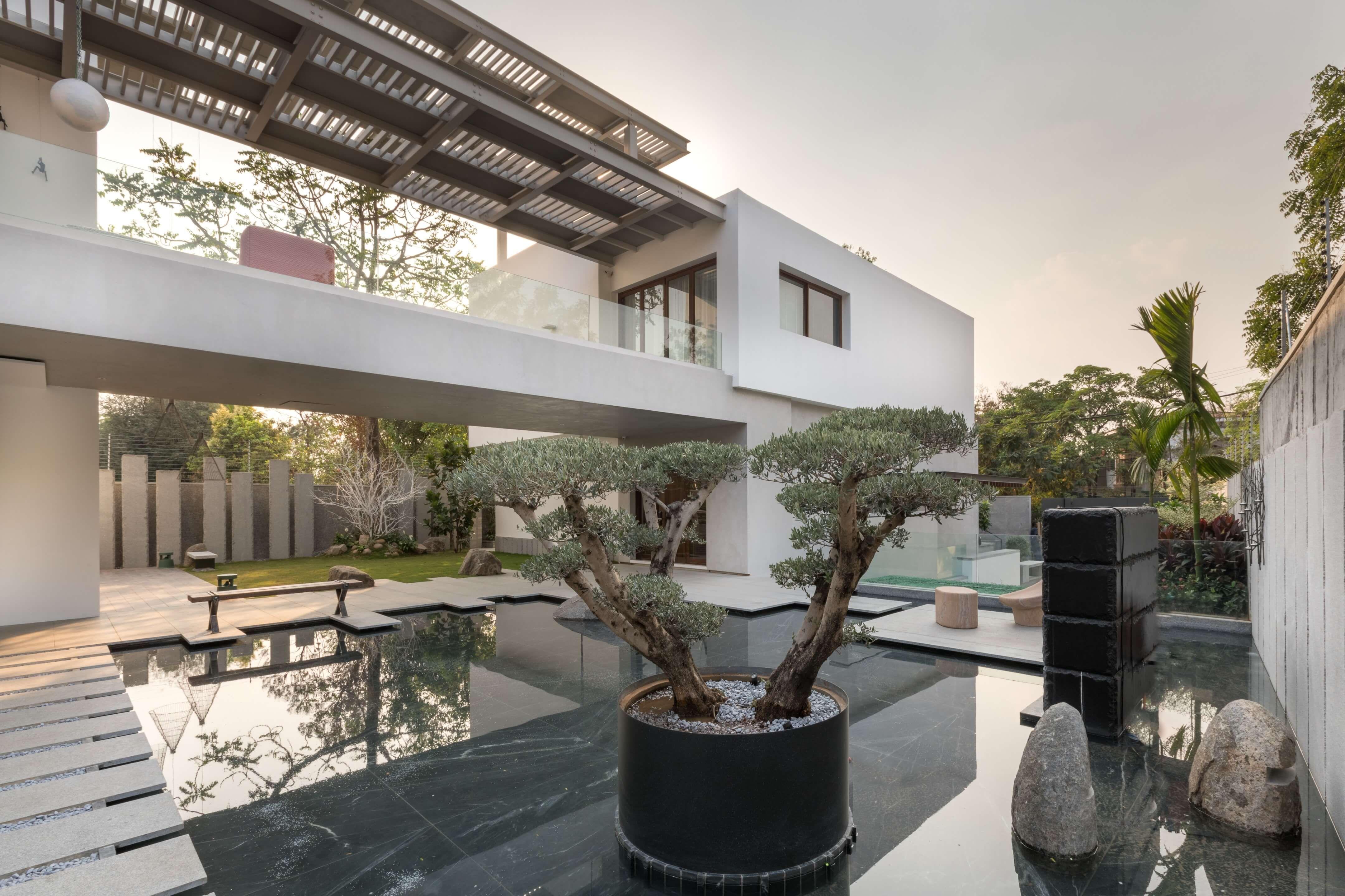 Villa 430 By Moriq Courtyard Design Modern Courtyard Beautiful Homes