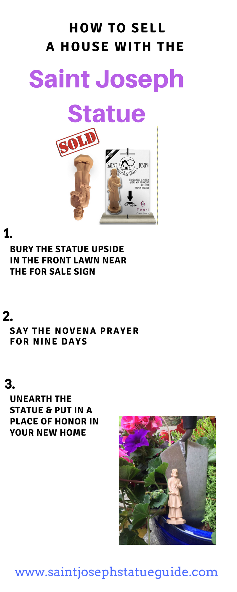 How To Use A Saint Joseph Statue Your House In Three Easy Steps St