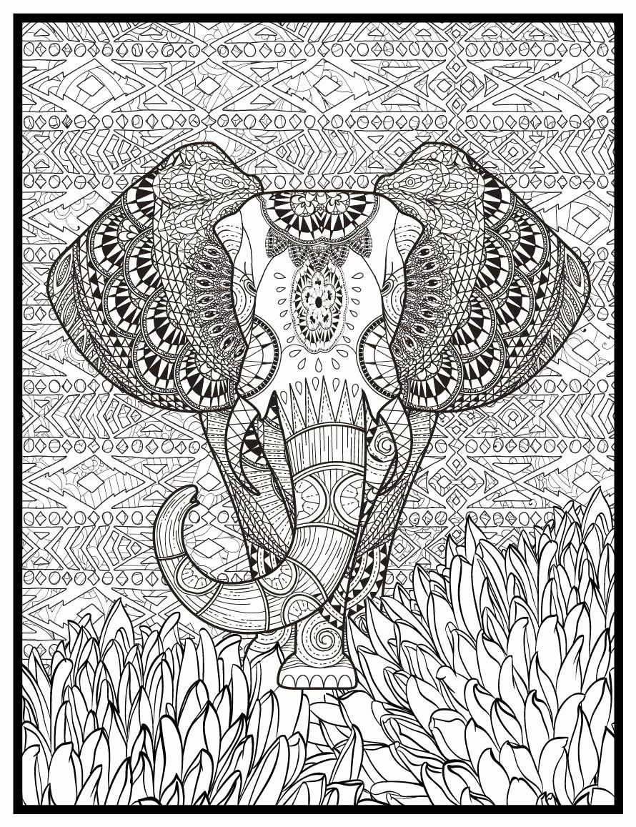 - Large Coloring Posters For Adults In 2020 Animal Coloring Pages