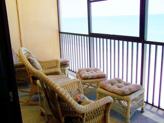 Balcony at Villa Madeira
