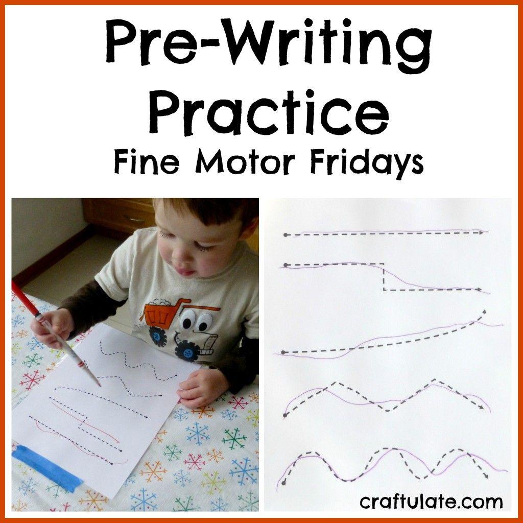 Pre Writing Practice