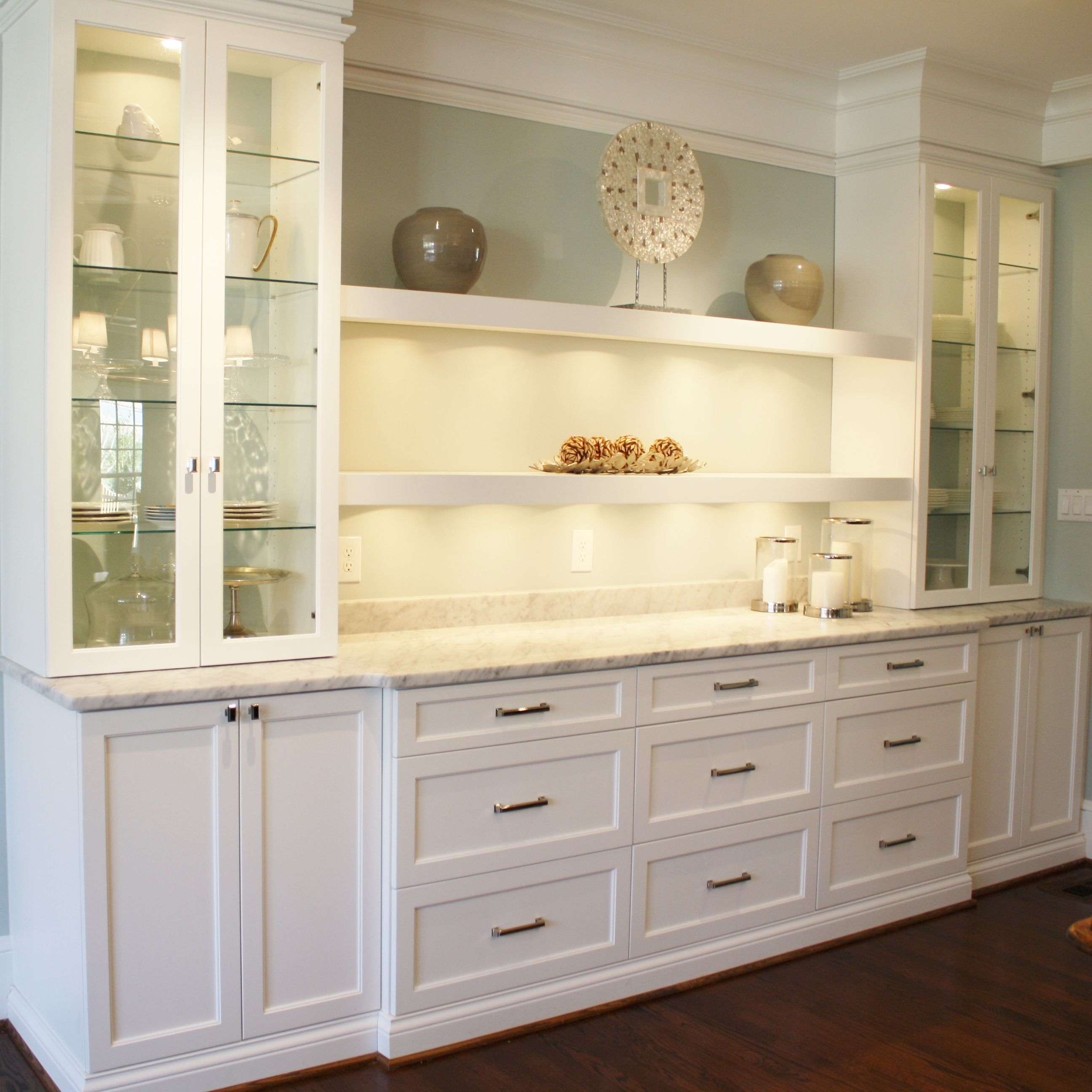 Dining Idea Room Storage: #kitchen #breakfast #bar #buffet Gorgeous Custom Breakfast