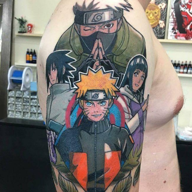 Naruto Tattoo 56 Naruto Shippuden Tattoos Naruto Tattoo Tattoos