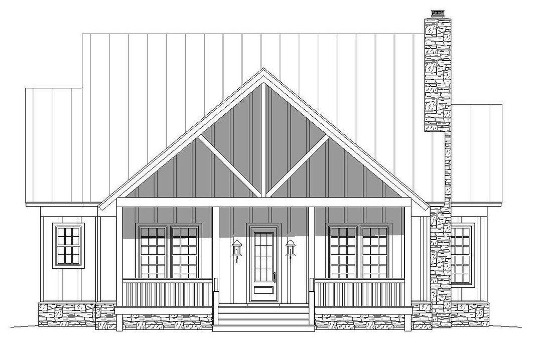 Photo of HPM Home Plans | Home Plan: 763-1254