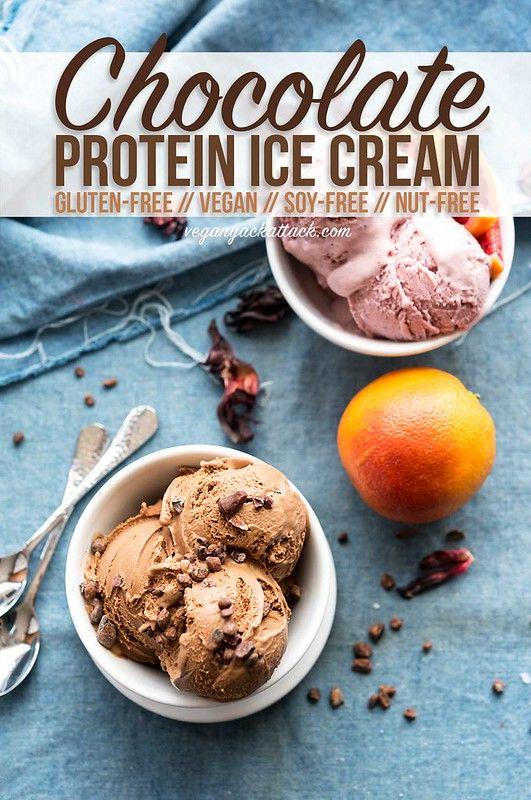 Chocolate Protein Ice Cream {VIDEO} - #VYApantrychallenge