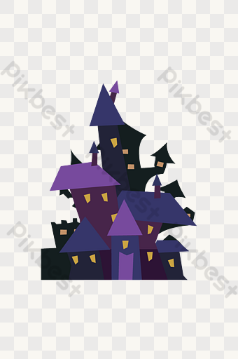 Halloween Haunted Castle Png Images Psd Free Download Pikbest Halloween Party Poster Halloween Haunt Png Images
