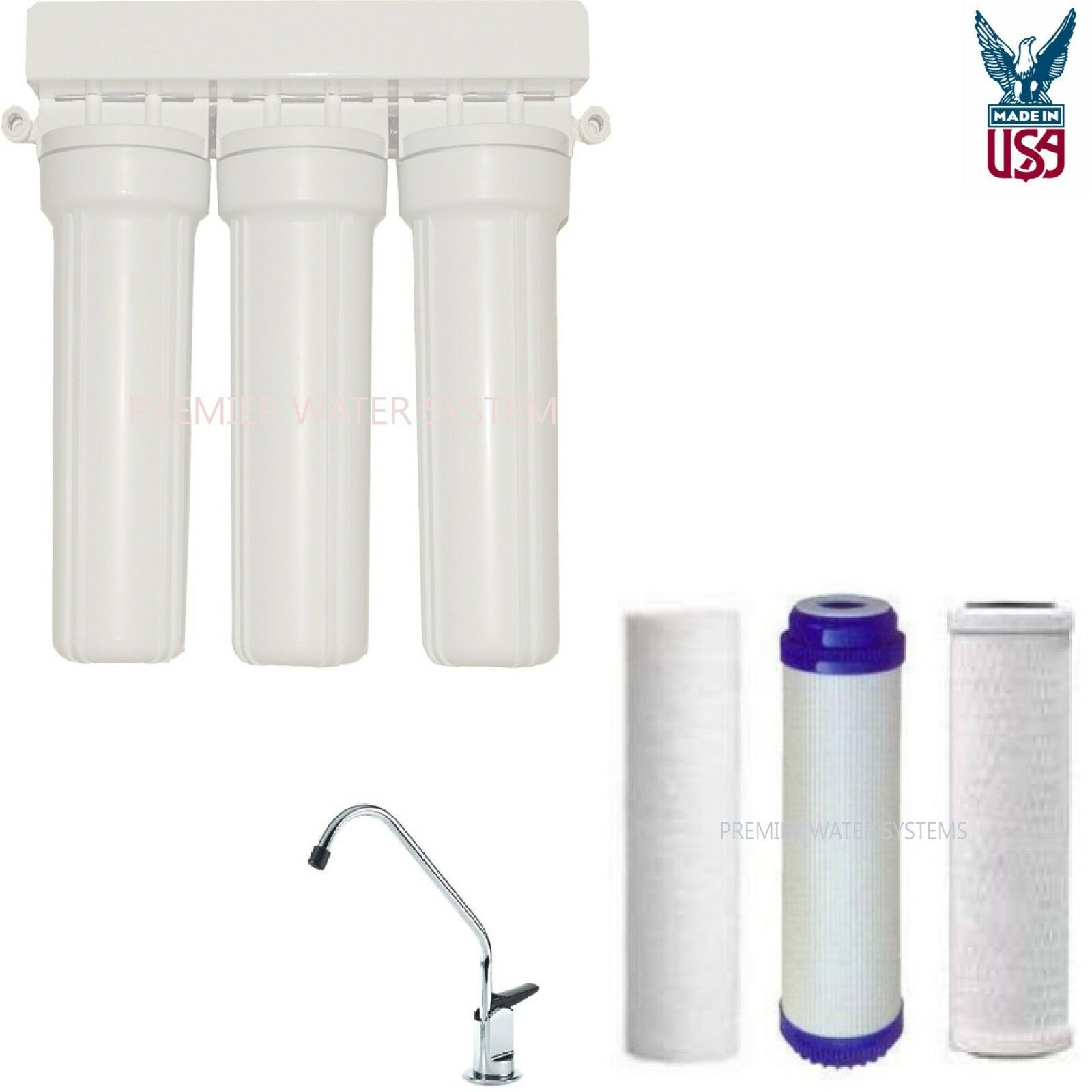 Fluoride And Chlorine Removing Home Drinking Water Filtration System 818368011664 Ebay In 2020 Water Purification System Drinking Water Filter Water Filtration System