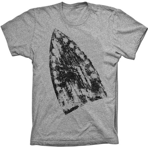 1bd45c0c39b Burnt Iron T Shirt - Tri-Blend Vintage Apparel - Graphic Tees for ...